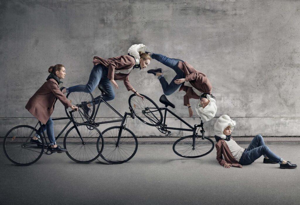 Hövding cykelairbag 3 er meget mere sikker end en traditionel cykelhjelm